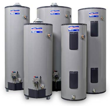 Hot water tanks ready tp be picked up or delivered