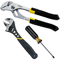 Wide selection of hand tools